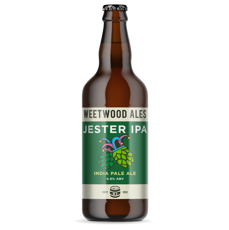 Weetwood Ales Jester IPI Indian Pale Ale bottle
