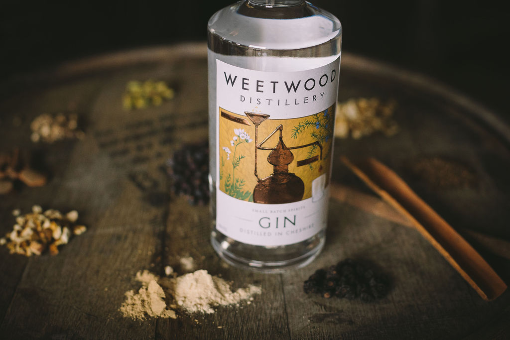 London Dry Gin and barrel