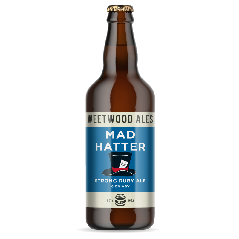 Weetwood Ales Mad Hatter Strong Ruby Ale bottle