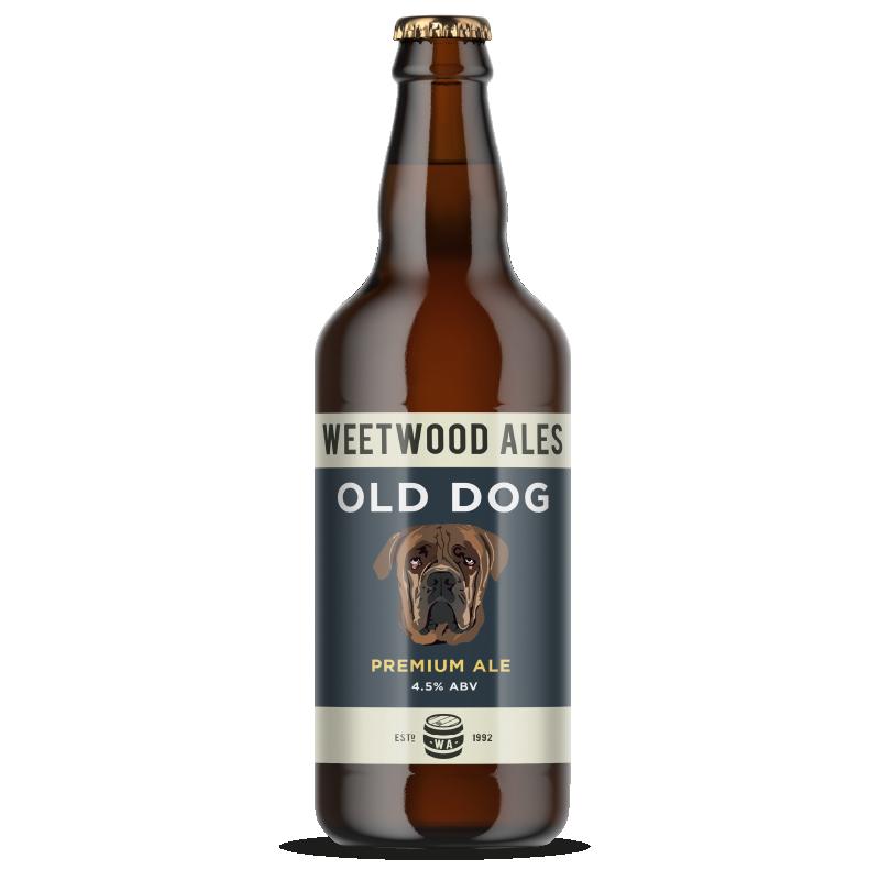 Weetwood Ales Old Dog Premium Ale bottle