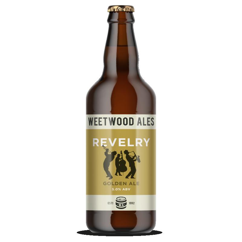 Weetwood Ales Revelry Golden Ale bottle