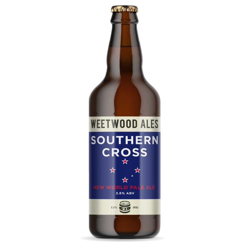 Weetwood Ales Southern Cross New World Pale Ale bottle