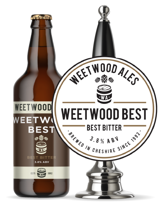 Weetwood Ales Weetwood Best best Bitter bottle and pump
