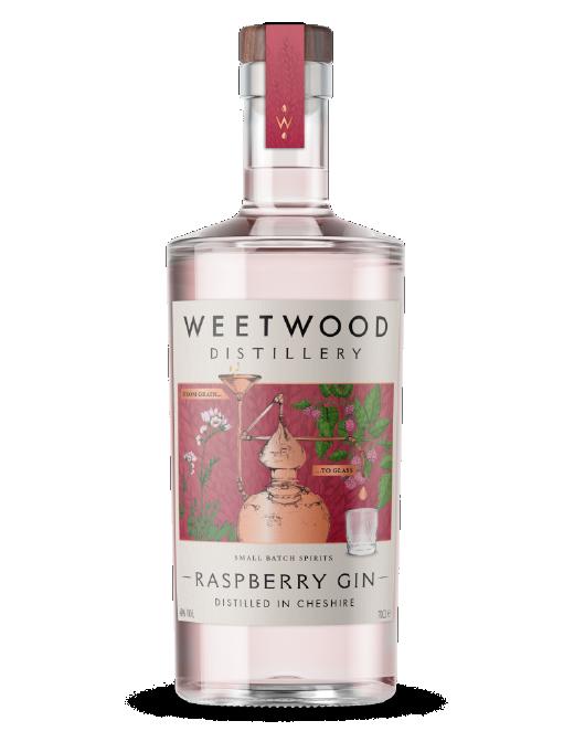 Weetwood Distillery Raspberry Gin bottle