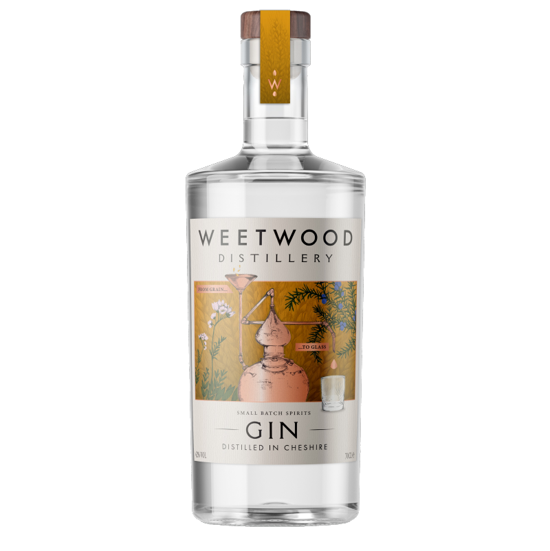 Weetwood Distillery Small Batch Spirits London Dry Gin