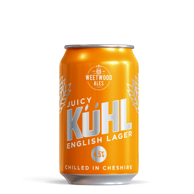Juicy Kuhl Lager Product Weetwood Ales