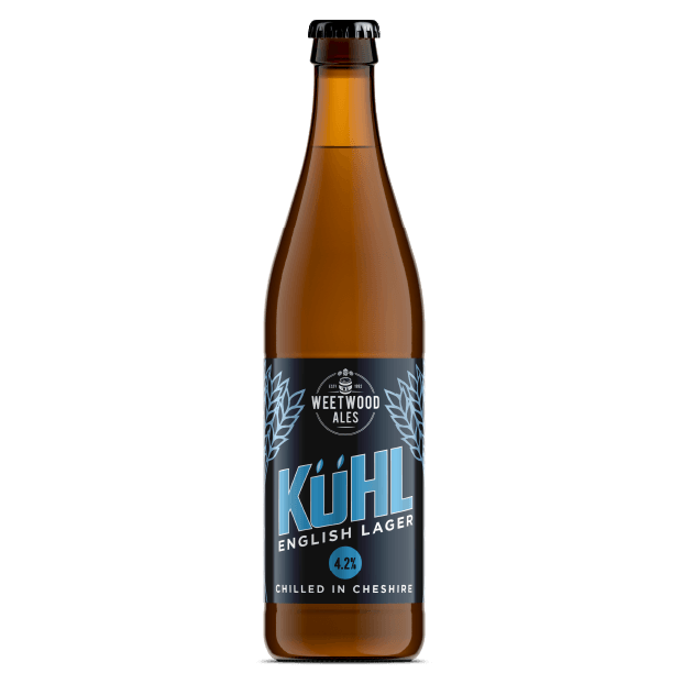 Kuhl Lager Product Bottle Weetwood Ales