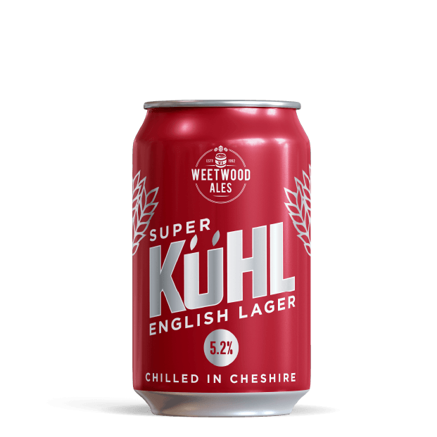 Super Kuhl Lager Product Weetwood Ales